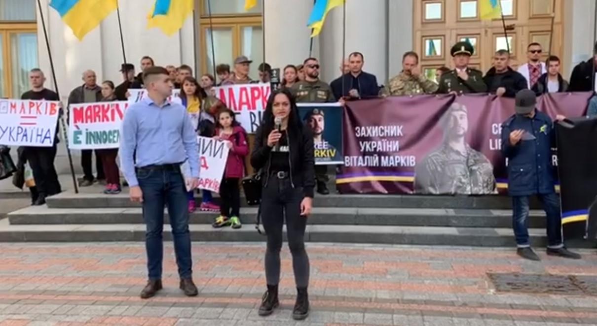 Жена Маркива: итальянцы оскорбили украинскую армию