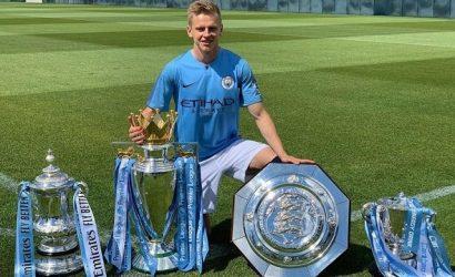 Зинченко выиграл 9-й трофей с «Манчестер Сити» и обошел Андрея Шевченко
