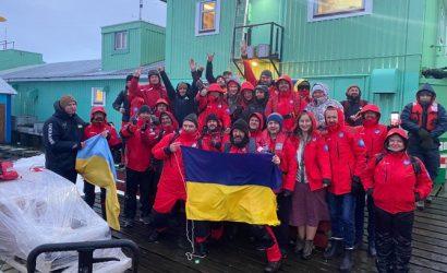Домой отправилась 25 экспедиция украинских полярников