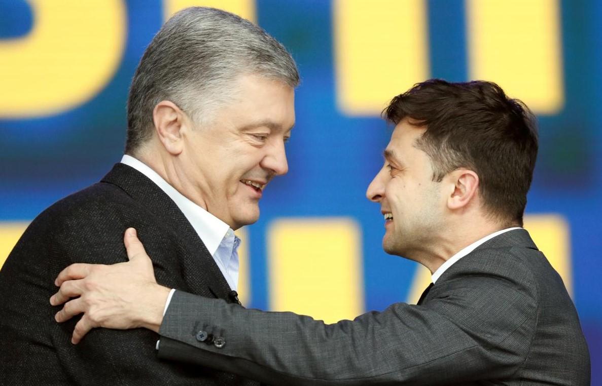 Появились рейтинги доверия к Зеленскому и Порошенко