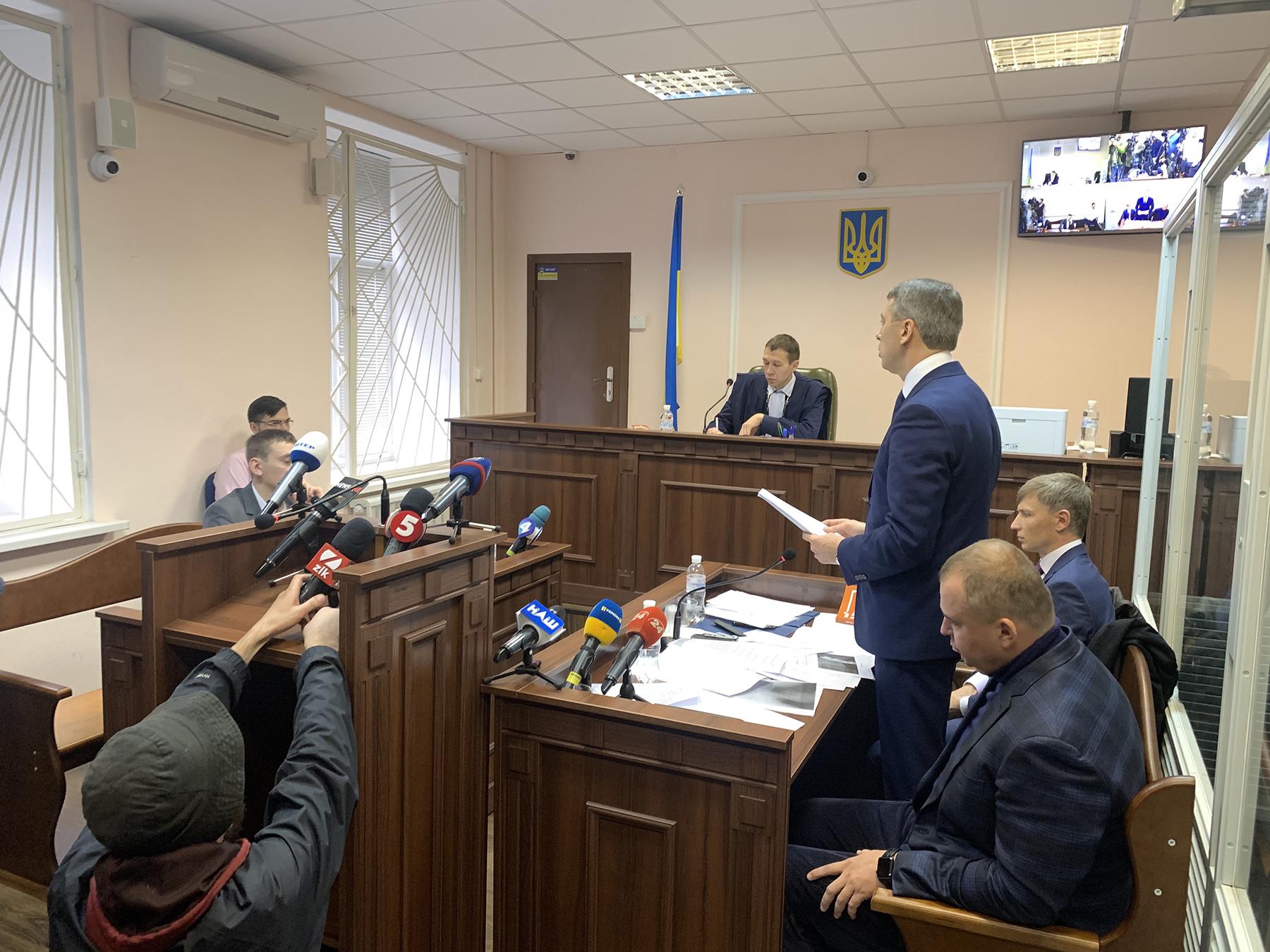 Суд рассматривает иск НАБУ против Гладковского