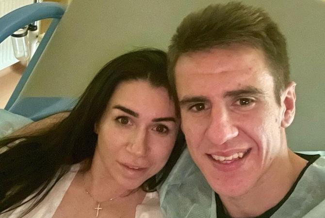 Футболист «Динамо» Артем Беседин во второй раз стал отцом