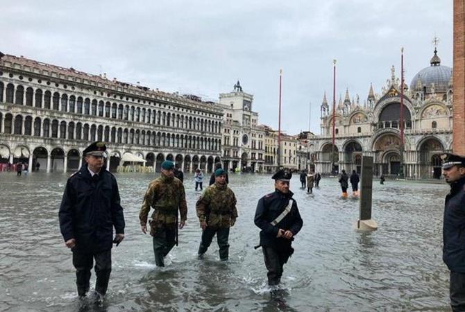 После наводнения жители Венеции получат по 5 тысяч евро компенсации