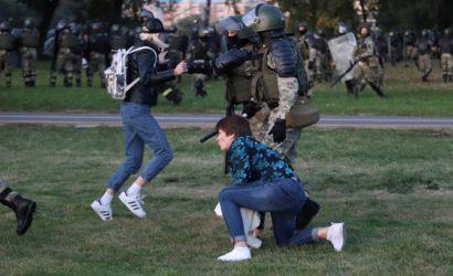 В Минске начали задерживать людей, вышедших в день «тайной» инаугурации Лукашенко