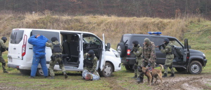 Полиция и Нацгвардия готовятся к работе в «серой зоне» на Донбассе (Фото, видео)