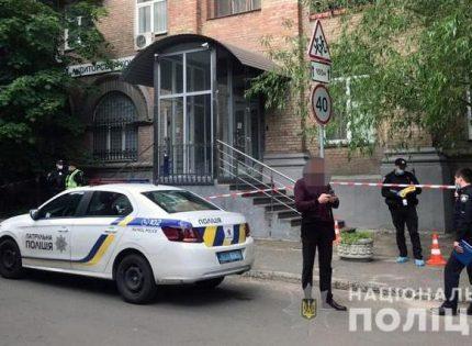 В центре Киева бизнесмены устроили стрельбу, ранены два человека