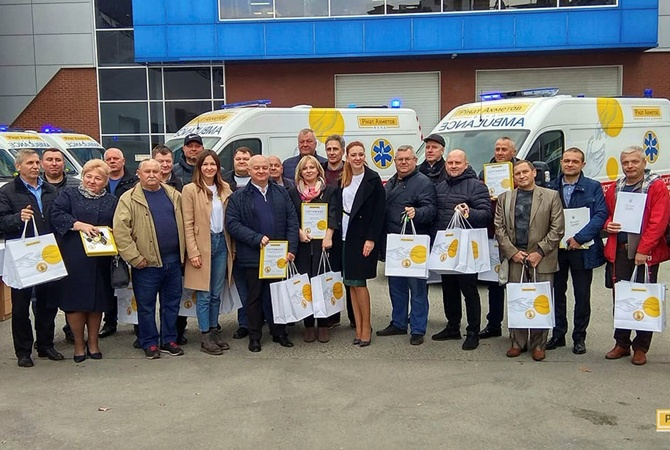 Знаковый этап проекта «200 скорых для Украины»
