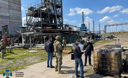 В Днепропетровской области нелегальный нефтеперерабатывающий завод производил дизтоплива на миллионы гривен