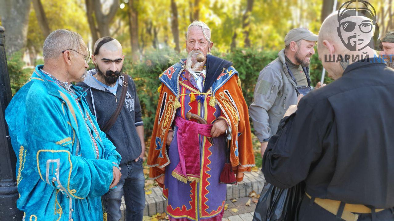 На марш УПА пришли казаки