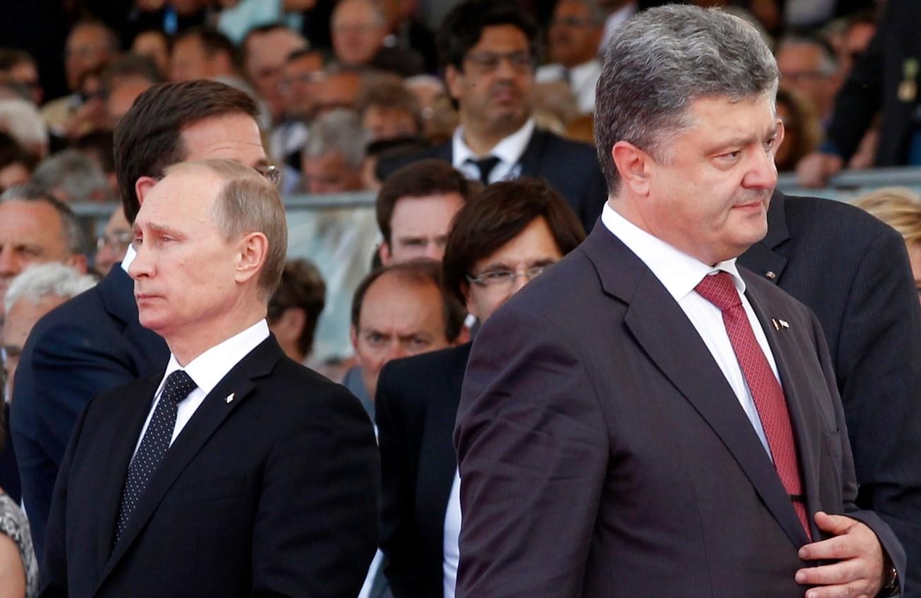 Грынив: первые полгода Путин постоянно предлагал Порошенко помощь
