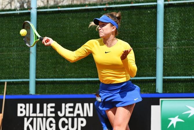 Свитолина принесла Украине победу над Японией в Кубке Билли Джин Кинг