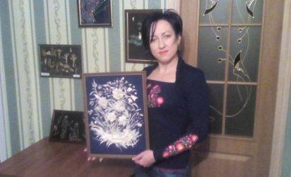 Картина… ухой: психолог делает полотна из рыбных костей