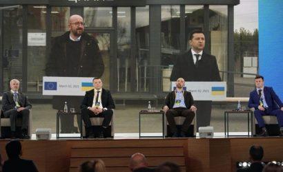Шарль Мишель — Зеленскому: Господин президент, мы — ваши друзья