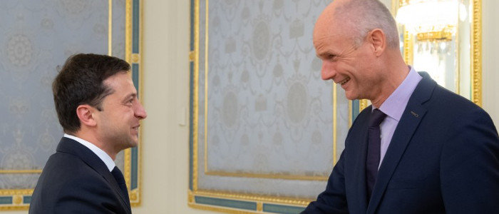 Дело МН17: Зеленский встретился с министром иностранных дел Нидерландов