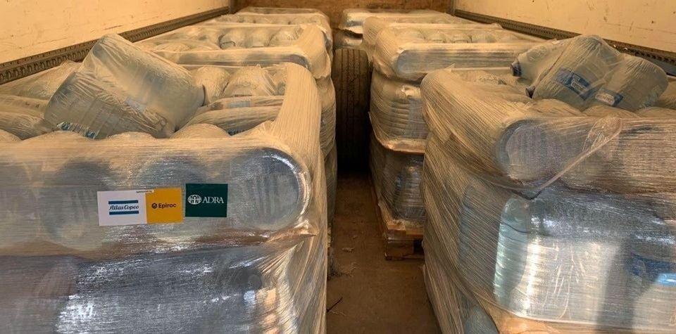 В прифронтовое Гранитное доставили 850 бутылей питьевой воды, – АДРА