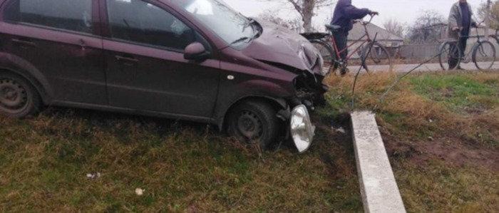 На Лугащине водитель оставил без света более 600 потребителей