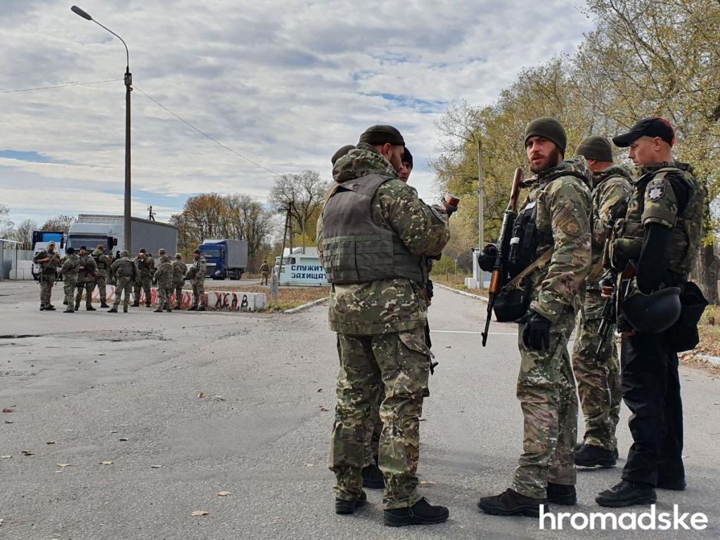 В полиции прокомментировали конфликт с Нацкорпусом на Донбассе