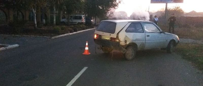 ДТП в Волновахе: Пострадал 10-летний ребенок