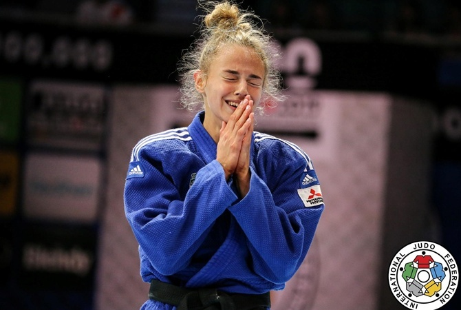 Белодед выиграла «золото» на турнире Grand Slam в Абу-Даби