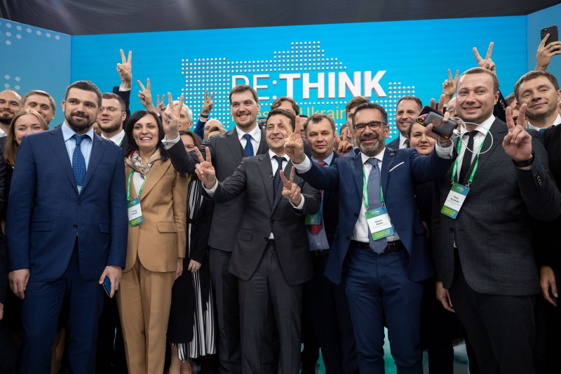 Зеленский заявил о создании Фонда международной поддержки Донбасса