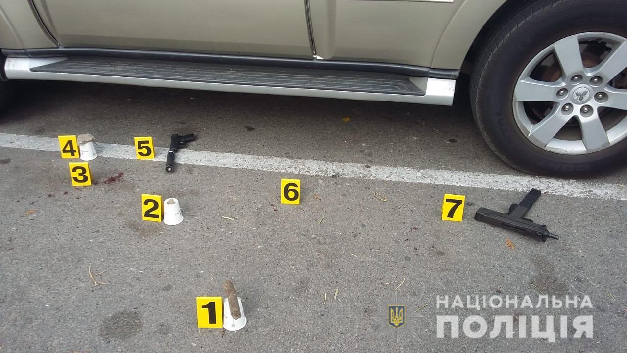 Перестрелка в Харькове: полиция рассматривает несколько версий