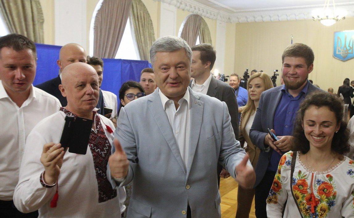 Партия Порошенко назвала арест Пашинского «дешевым шоу»
