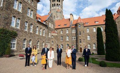 Принца Люксембургского Шарля крестили в масках