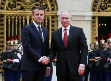 Президент Франции намерен провести переговоры с Владимиром Путиным