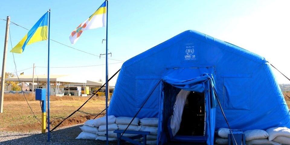 На КПВВ Донбасса медицинскую и психологическую помощь получили более 900 человек