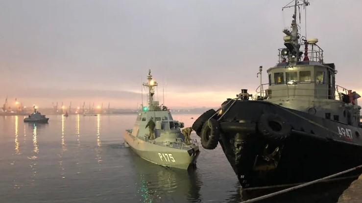 РФ вернет Украине корабли до встречи в «нормандском формате» – СМИ