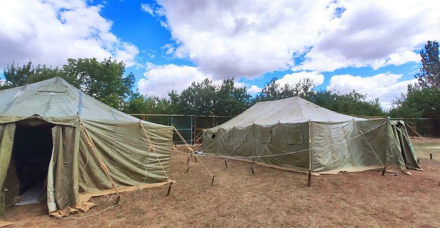 Впервые услышали орудия: В строительный лагерь «БУР» на Донетчину приехала молодежь со всей Украины (Фото)