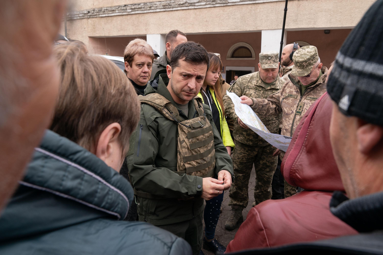 Появилось полное видео беседы Зеленского с Нацкорпусом в Золотом