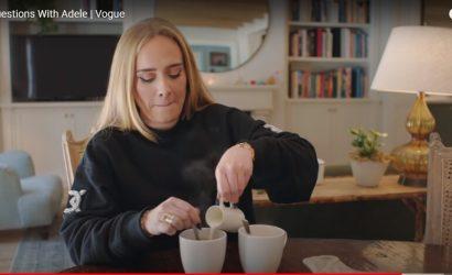 Адель показала свой дом и раскрыла секреты макияжа в интервью Vogue
