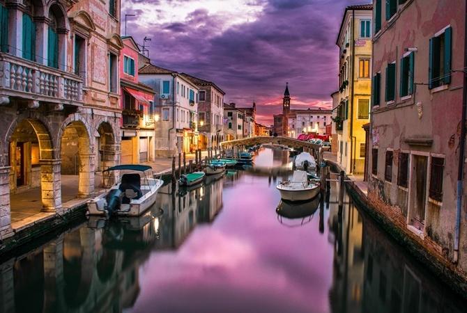 Венеции грозит полное высыхание знаменитых каналов