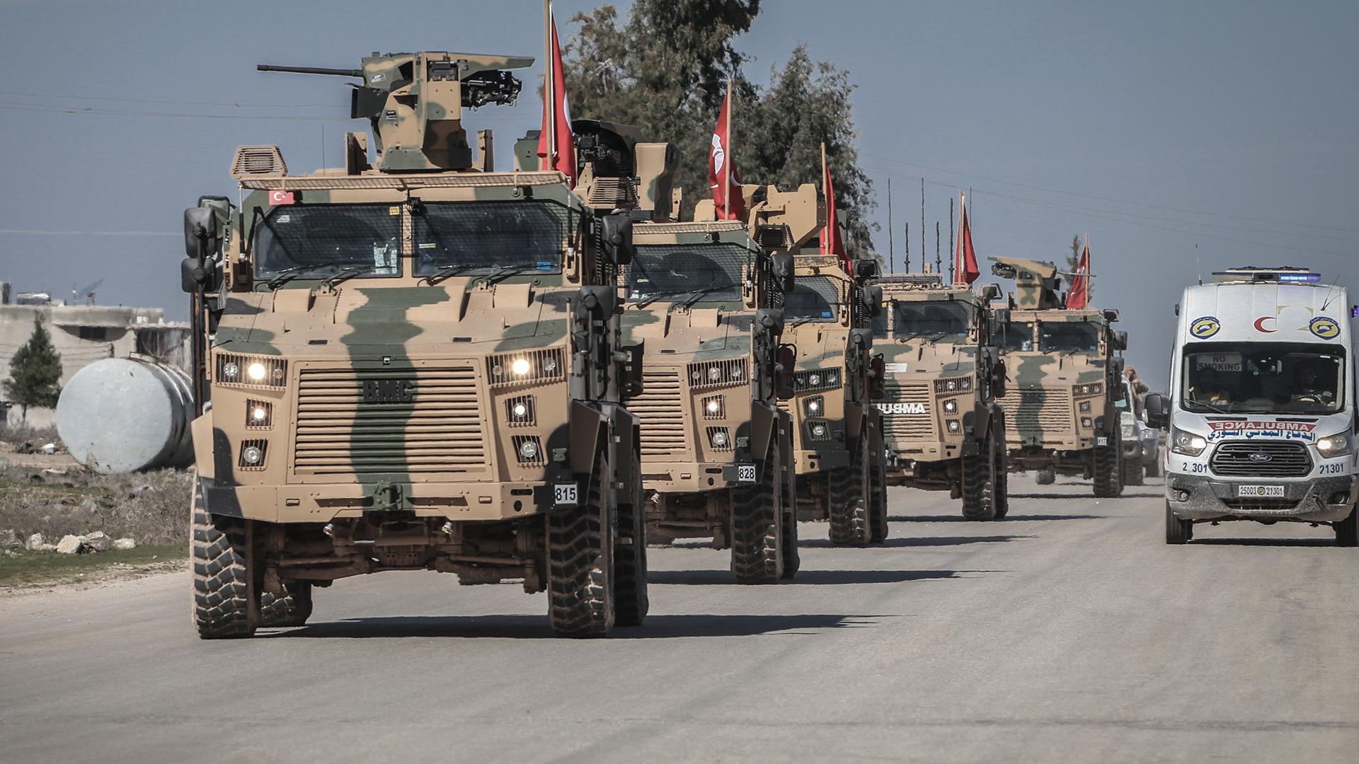 Украина «внимательно наблюдает» за операцией Турции в Сирии