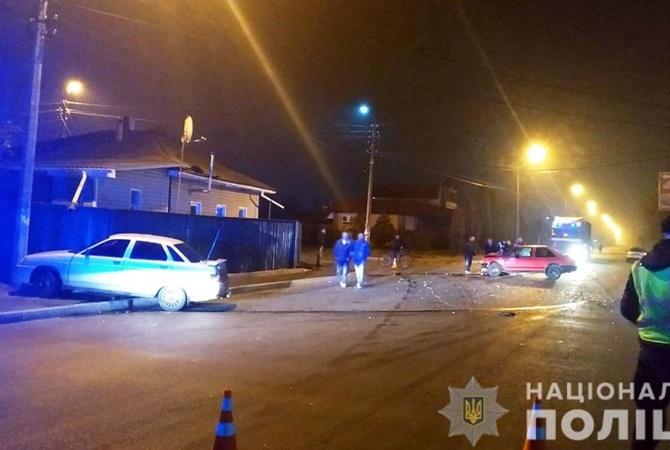 На Черниговщине капитан полиции устроил ДТП с пострадавшими