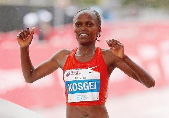 Кенийская бегунья побила мировой рекорд 16-летней давности