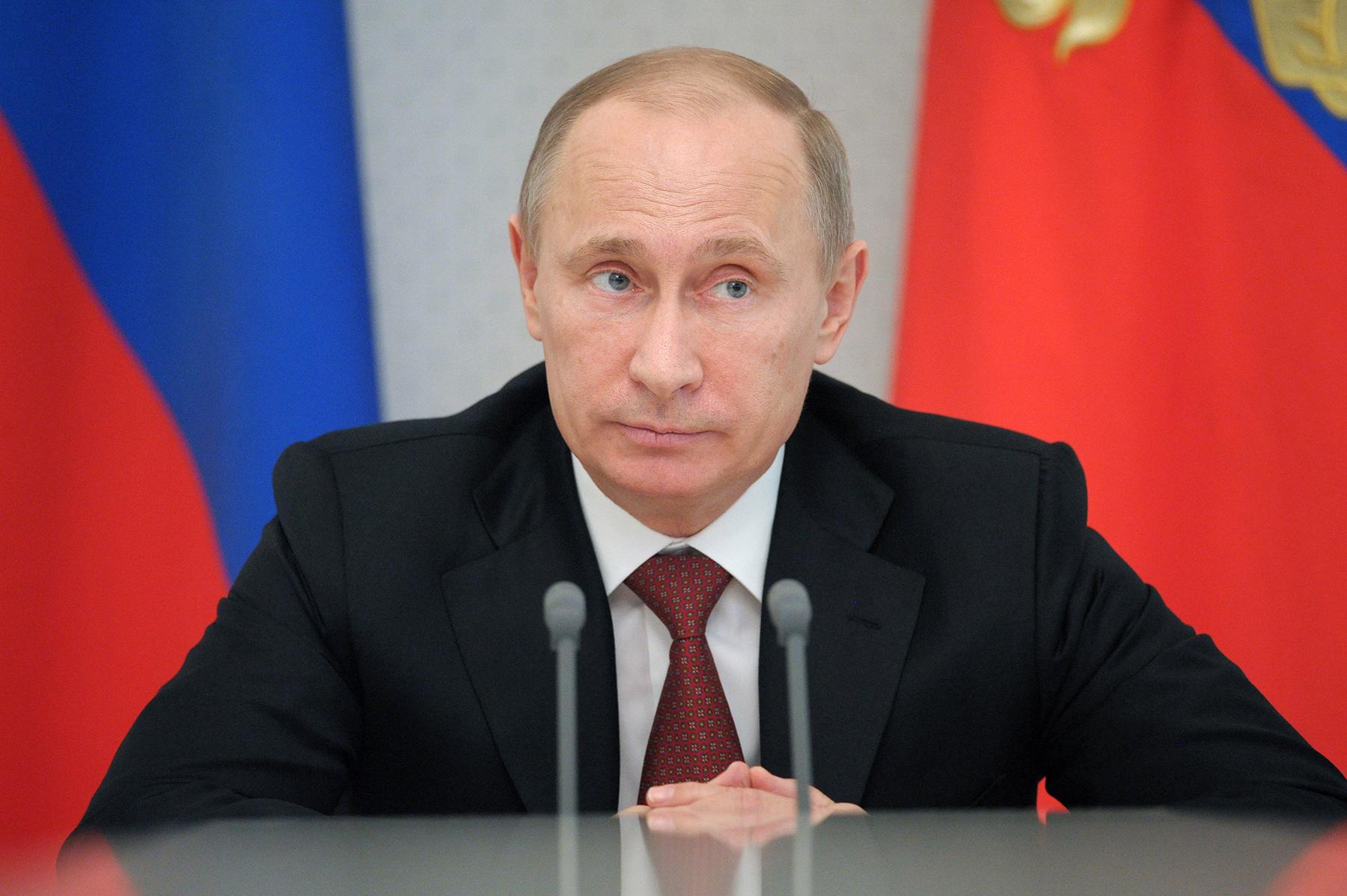 Путин о реверсе газа: чушь это, сапоги всмятку