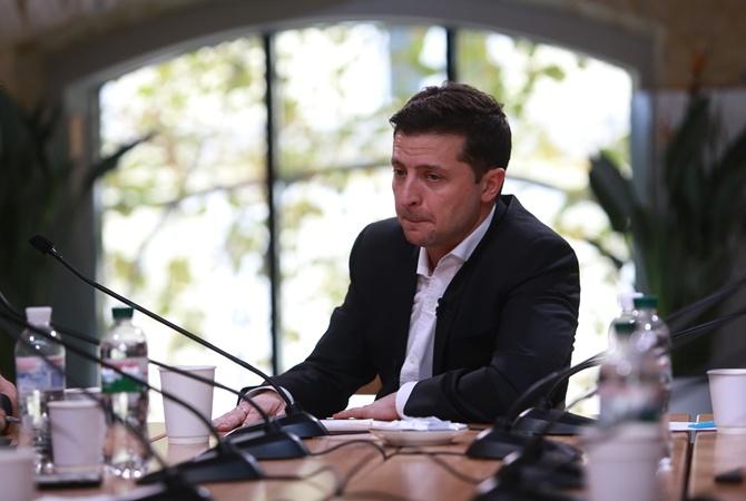 Зеленский: «Я встречался с Хорошковским на Банковой, но он на меня не влияет»
