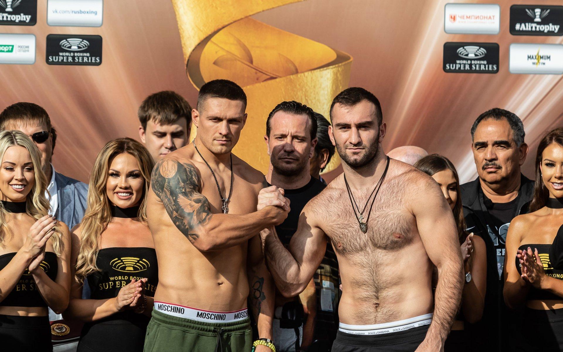 Федерация бокса России хочет провести реванш Усик-Гассиев