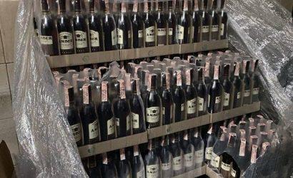 """В центре Харькова """"в сверхбольших объемах"""" подделывали водку, шампанское и коньяк"""