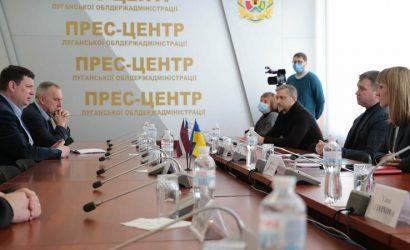 На Луганщине появятся совместные украинского-латвийские предприятия (Фото)