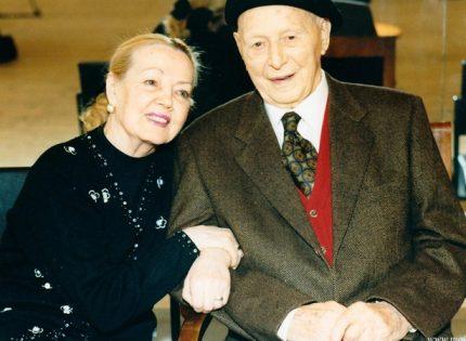 Умерла жена и муза легендарного Игоря Моисеева