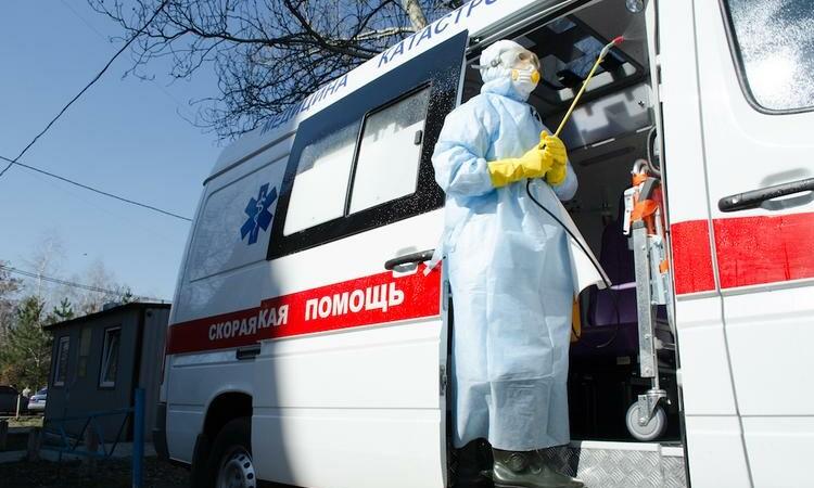 В «ЛНР» зарегистрировано 1312 случаев коронавируса