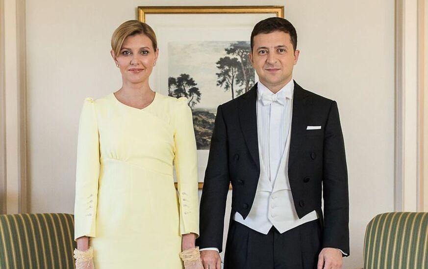 Посольство Японии похвалило одежду Зеленского и его жены