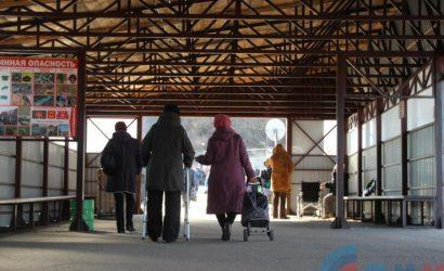 В «ЛНР» снова изменили правила пересечения пункта пропуска в Станице Луганской