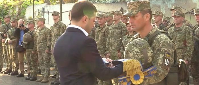 Две бригады ВСУ получили новые названия по распоряжению Зеленского (Видео)