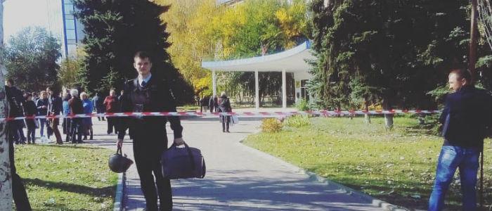 В Луганске искали взрывчатку в «республиканских» вузах (Фото)