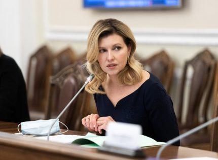 Елена Зеленская: Советов президенту я не даю, советы мужу — могу