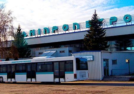 СМИ: у летевшего из Киева в Днепр самолета отказал мотор